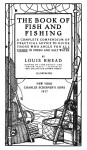 Title page of an old book showing fishing gear