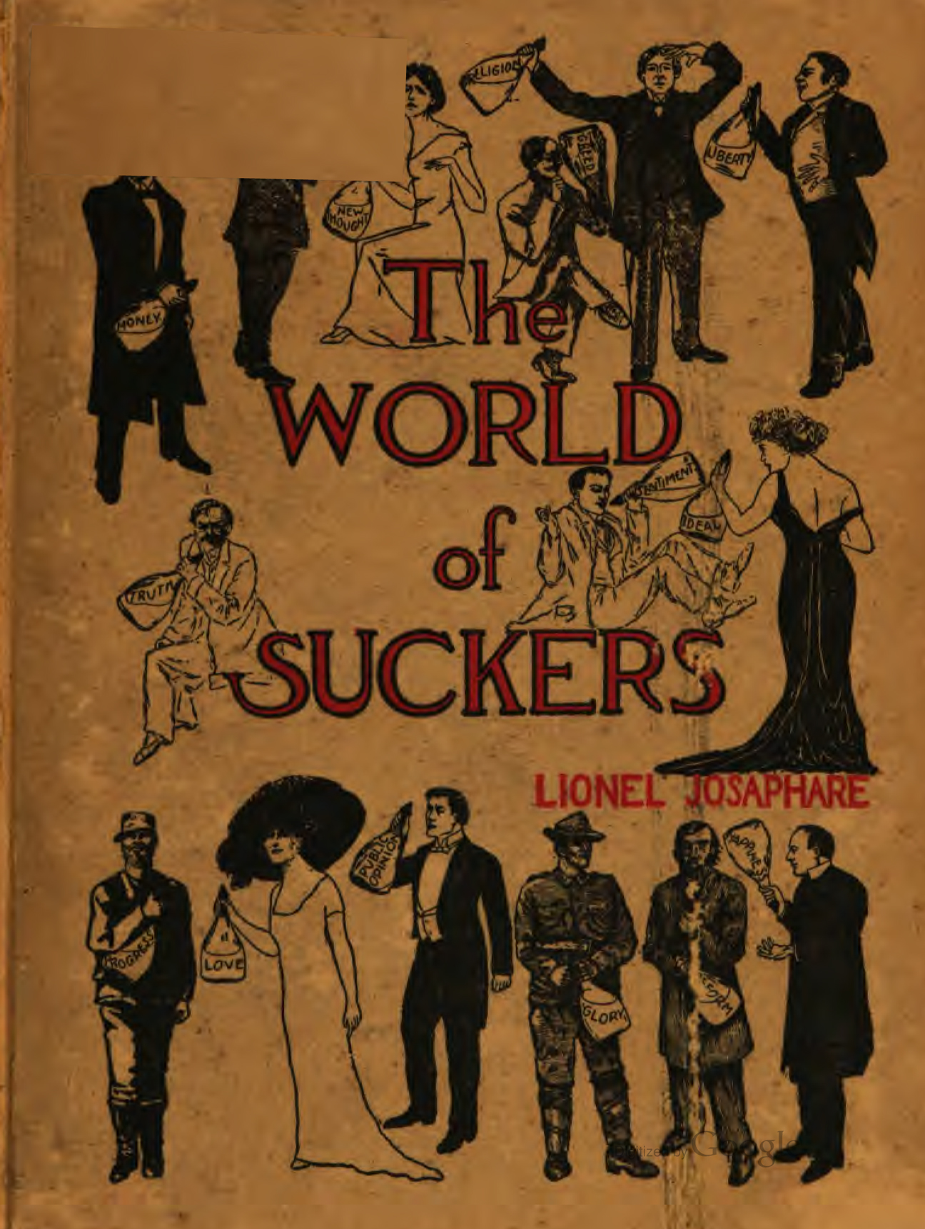 Cover of the World of Suckers by Lionel Josaphare (1909)