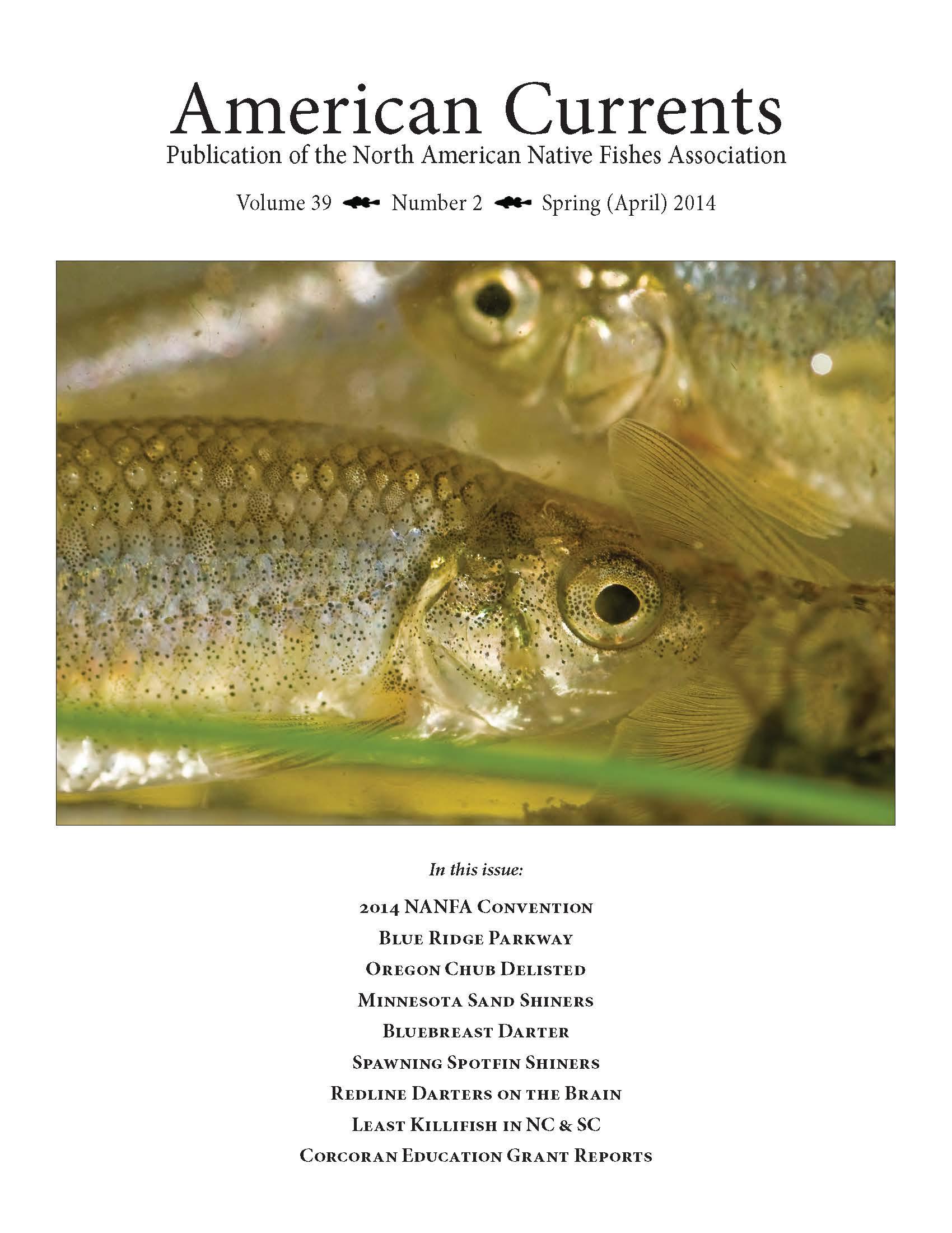 Like native fish? Check out NANFA  – moxostoma