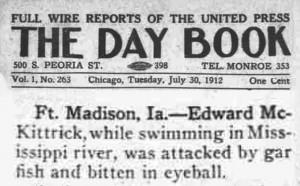 garfish-bites-eyeball-Iowa-1912
