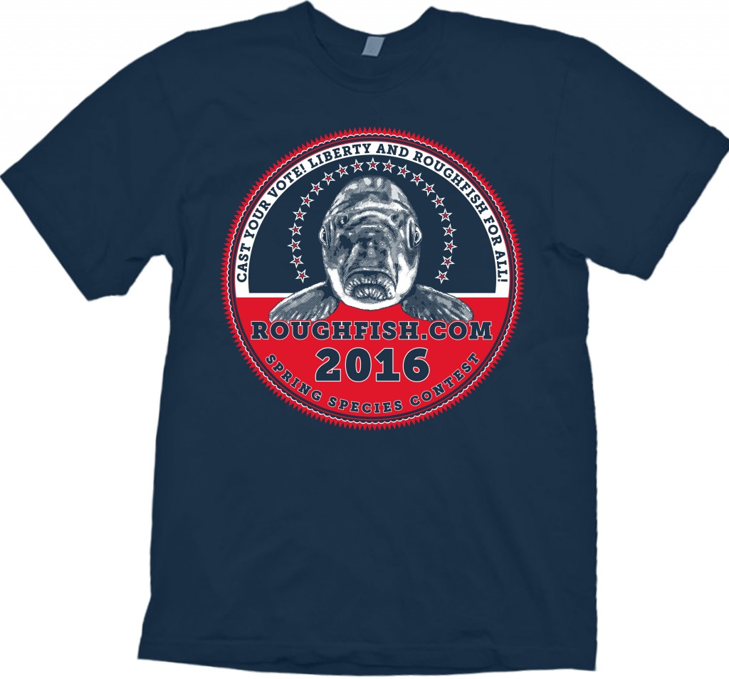 2016 Roughfish.com contest shirt